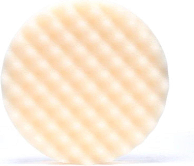 "3M 05737 Perfect-It 8"" Foam Compounding Pad, White"