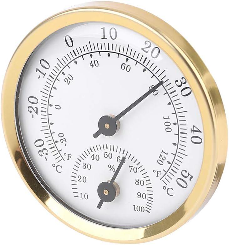 igrometro Termometro per ambienti interni 58 mm analogico misuratore di umidit/à AIUI