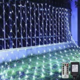 Ollny Led Net Lights 200 LED 9.8ft x 6.6ft mesh