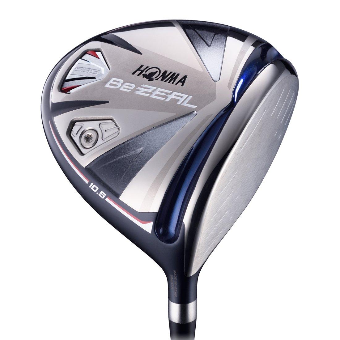 本間ゴルフ ドライバー Be ZEAL ビジール 535 ドライバー VIZARD for Be ZEAL シャフト カーボン メンズ BZ535T105 右 ロフト角:10.5度 番手:1W フレックス:SR B078FHBD56