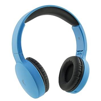 Ksix Bxaupbt01az Casque Sans Fil Bleu Amazonfr High Tech