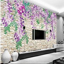 Sproud Custom Wallpaper 3D Stereo Rose Flower Tv Backdrop Tide Pattern Large Wallpaper Silk Cloth Wallpaper