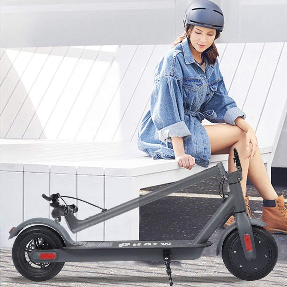 Scooter /électrique L/éger pour Les Adolescents Outil De Transport CLOUDEE Trottinettes /électriques 250 W Jusqu/à 25 Km//h Scooter /électrique pour Adulte Pneu Solide De 8,5 Longue Port/ée De 25 Km