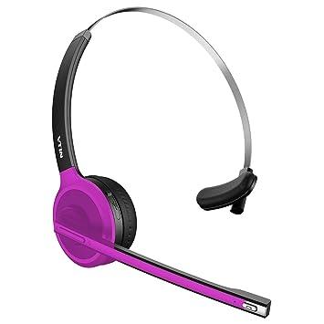 VTin magnético inalámbrico Bluetooth V4.1 Auriculares Auriculares estéreo con cancelación de ruido auriculares con