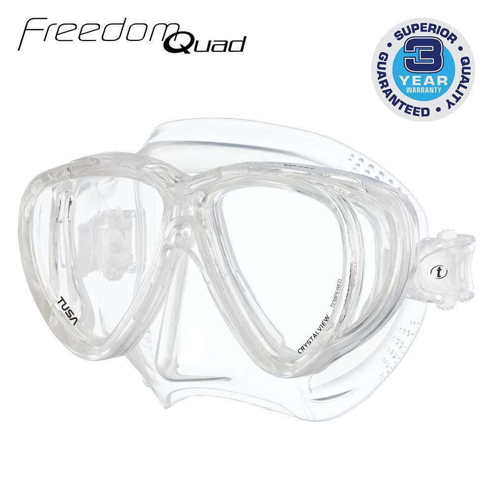 TUSA M-41 Freedom Quad Scuba Diving Mask