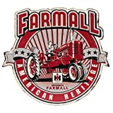 Open Road Brands American Heritage Farmall Die Cut Embossed Tin Sign
