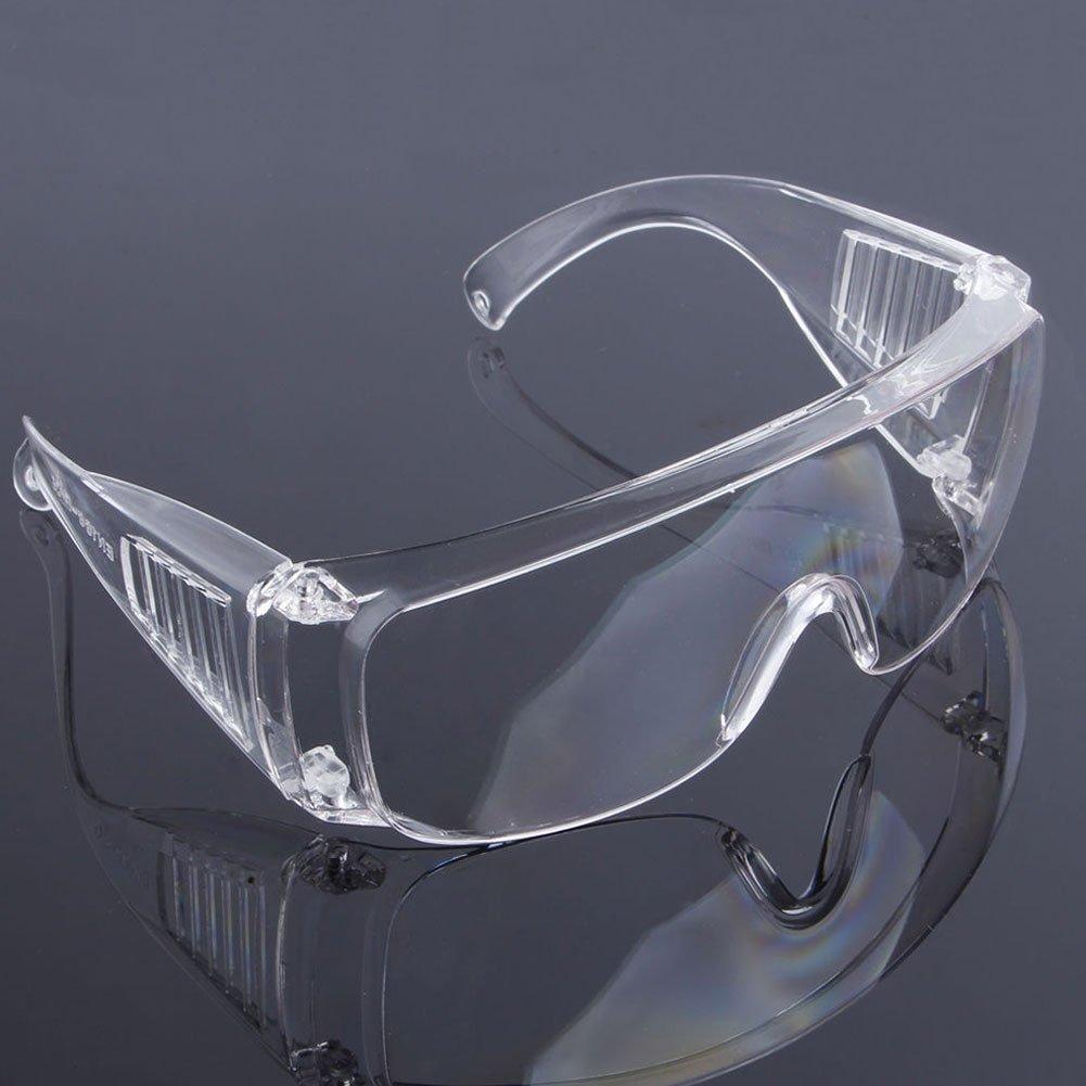 azul rojo Gafas protectoras de seguridad protecci/ón dental para los ojos anteojos de color