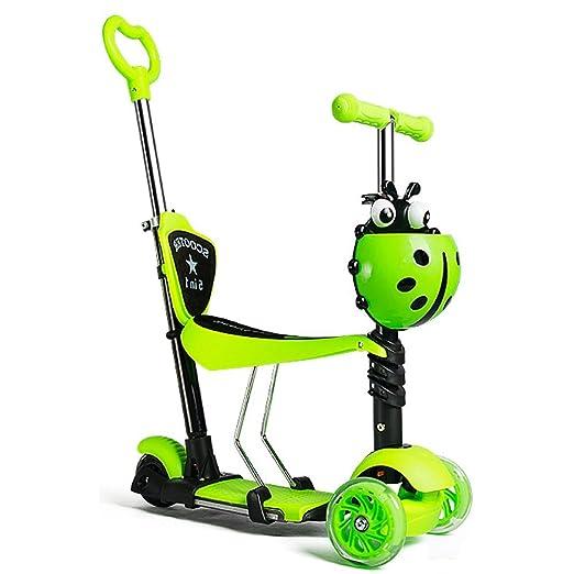 Niños Scooter - Diseño Versátil Para 1-10 Años De Edad ...