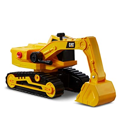 Cat Construction Power Haulers Excavator: Toys & Games