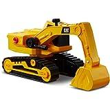 Caterpillar, Excavadora 30cm L&S Tough Power Vehículos de construcción, Color Amarillo (AJ 82268)