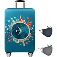 Travelkin Luggage Cover Washable Suitcase Protector Anti-scratch Suitcase cover Fits 22-32 Inch Luggage