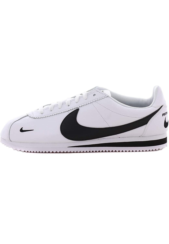 Blanc (blanc noir 104) 42 EU Nike Classic Cortez Prem, Chaussures de Fitness Homme