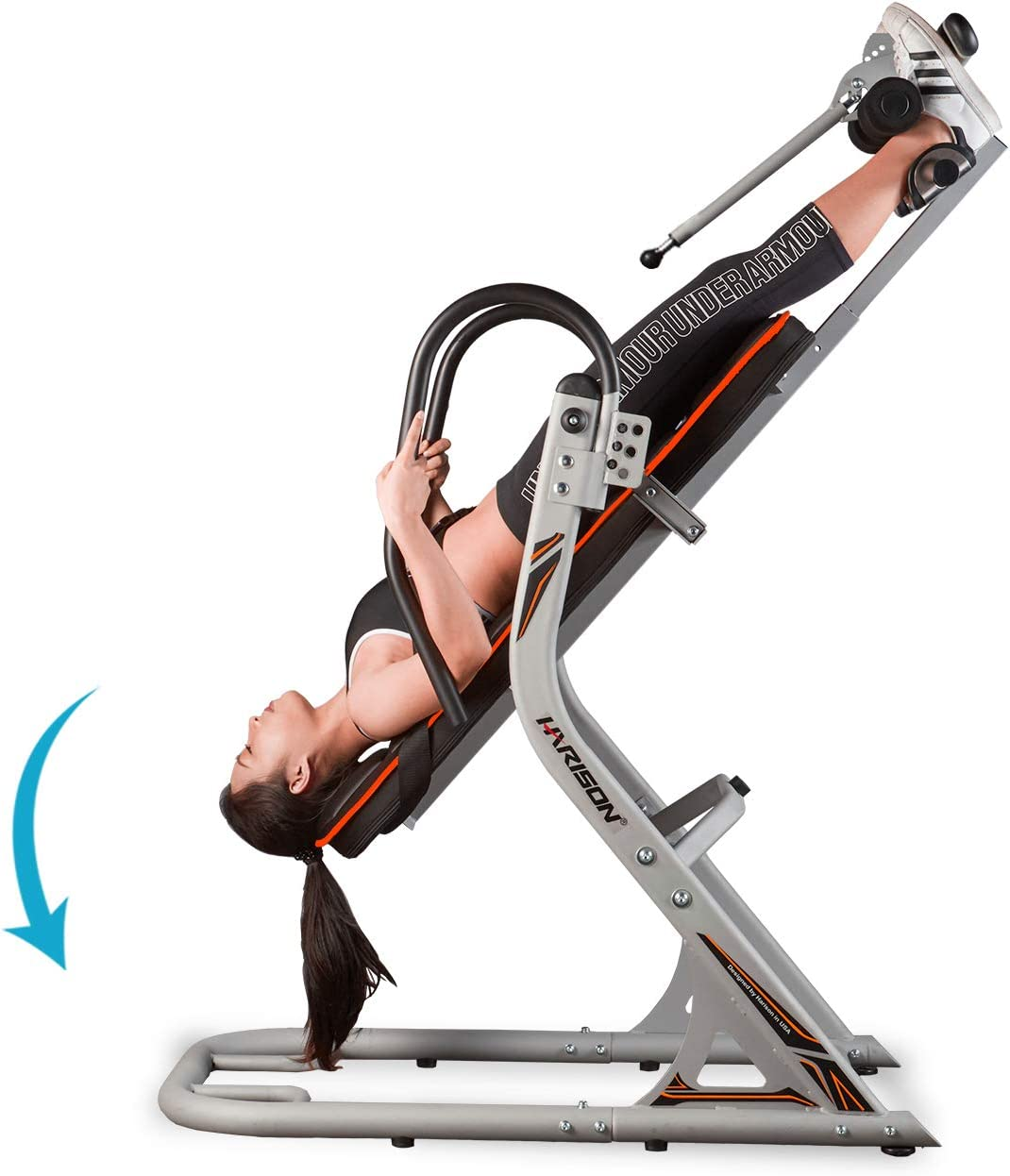 HARISON Inversion Table for Back Pain Relief with 3D Memory Foam