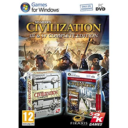 Image of Civilization 3 And 4 Complete Games