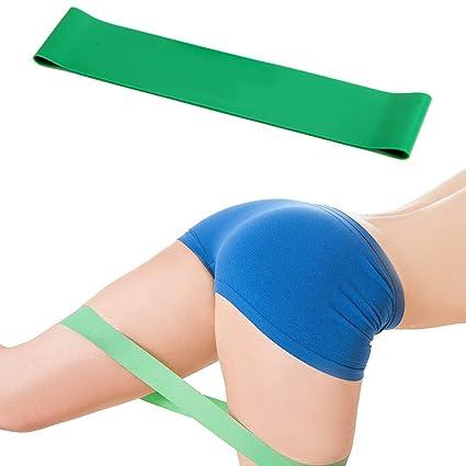 Amazon.com: CUSHY Resistance Yoga Band Elastic Muscle ...
