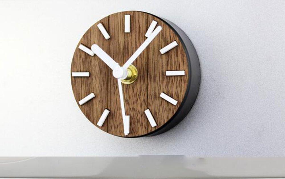 Kühlschrank Uhr Magnetisch : Clocklina echtholz kühlschrank uhr uhr retro retro europäischen