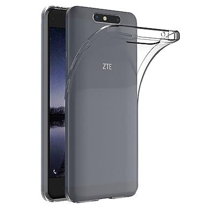 Funda Carcasa Gel Transparente para ZTE BLADE V8, Ultra Fina ...