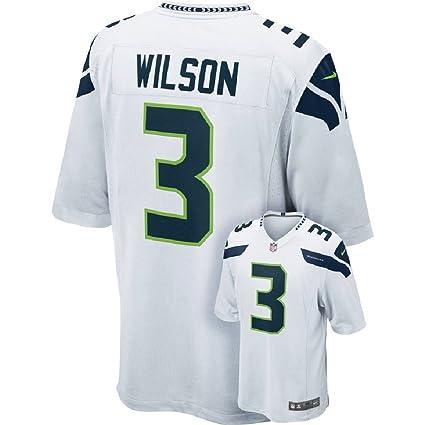 size 40 650a1 56fd6 NIKE NFL Men's Russell Wilson Seattle Seahawks Jersey - White - Large