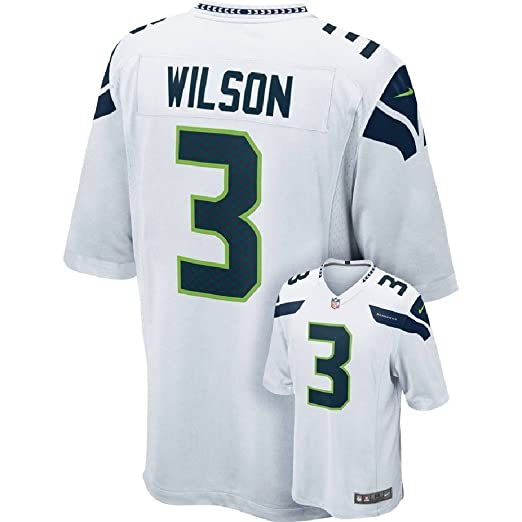 quality design 36d4b 2898f Amazon.com : Nike NFL Men's Russell Wilson Seattle Seahawks ...