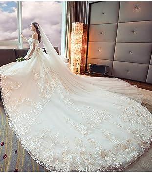 Vestidos de novia de cola larga