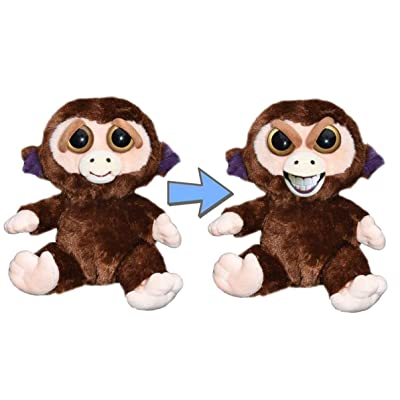 Feisty Pets Expressions Sly Grandmaster Funk The Monkey That Grins from Ear to Ear: Toys & Games
