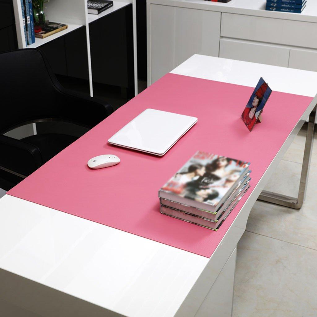 SX-BBF Rechteckige Tischdecke, Bürotisch Matten Computer Tisch Mats Schreiben Tisch Mats Mauspad Übergroße Matratze Dicker Mehrfarbige Esstisch Tischdecke (Farbe   Dark Blau2.8mm, größe   12060cm) Rosa2.8mm 12060cm