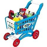 Teorema 64660 - Carrello Supermercato con Accessori, Assortito Rosa o Blu