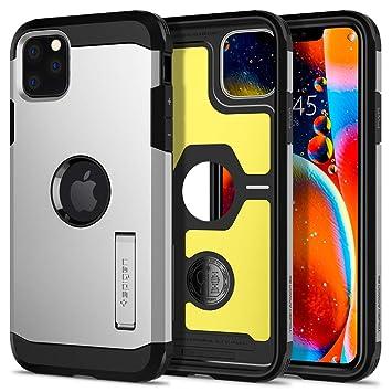iPhone 11 Pro ケース タフ・アーマー XP 077CS27448 (サテン・シルバー)