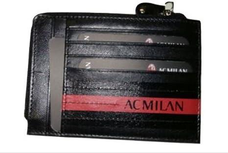 rivenditore online a31fb 07323 portafoglio portadocumenti milan: Amazon.it: Valigeria