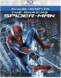 Cover Image for 'Amazing Spider-Man (Four-Disc Combo: Blu-ray 3D/Blu-ray/DVD + UltraViolet Digital Copy), The'