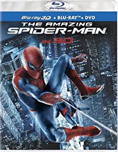 The Amazing Spider-Man (Four-Disc Combo: Blu-ray 3D/Blu-ray/DVD + UltraViolet Digital Copy)