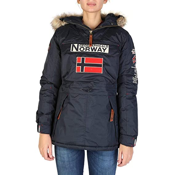Geographical Norway Chaqueta Boomera_Woman_New Mujer Color: Azul Talla: 5: Amazon.es: Ropa y accesorios
