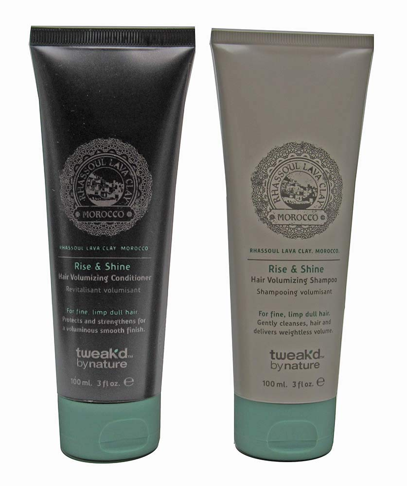 Tweak-d By Nature Rise & Shine Hair Volumizing Shampoo and Conditioner 3 fl. oz. each