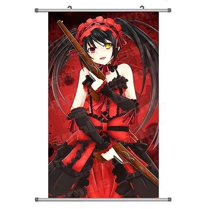 A Wide Variety of Date a Live Anime Characters Anime Wall Scroll Hanging  Decor (Tokisaki Kurumi 8)