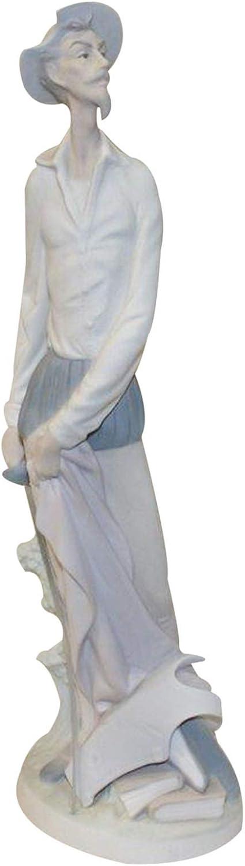 Lladro Figurine 4854m, Don Quixote Standing (Man Standing with Sword)