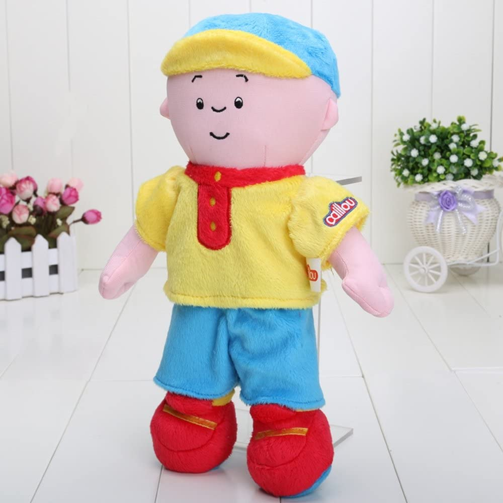 Free shipping 12inch Caillou Plush Soft Stuffed Cartoon Figure Doll Kids Toys