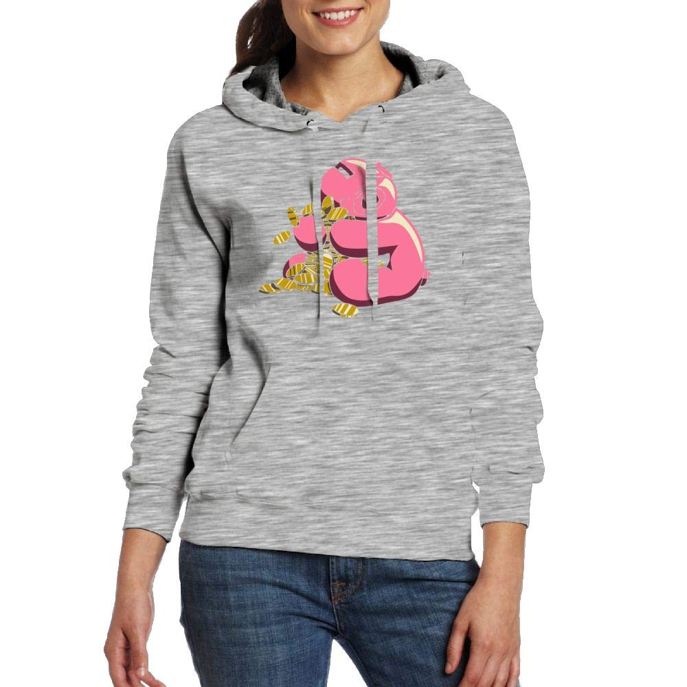 Amazon.com: Pig Holding Money Hoodie Sweatshirt with Pockets for Womens Pullover: Clothing