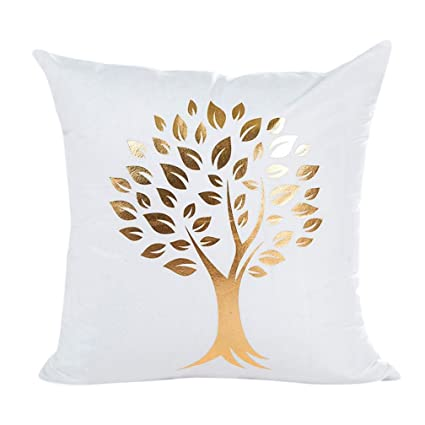 Buy Sunward Women s Home ecor Unique Letters Pattern Sofa Throw Pillow Case  Cushion Cover 18 X 18 Inch Large D Online at Low Prices in India - Amazon.in 4344ee1b0