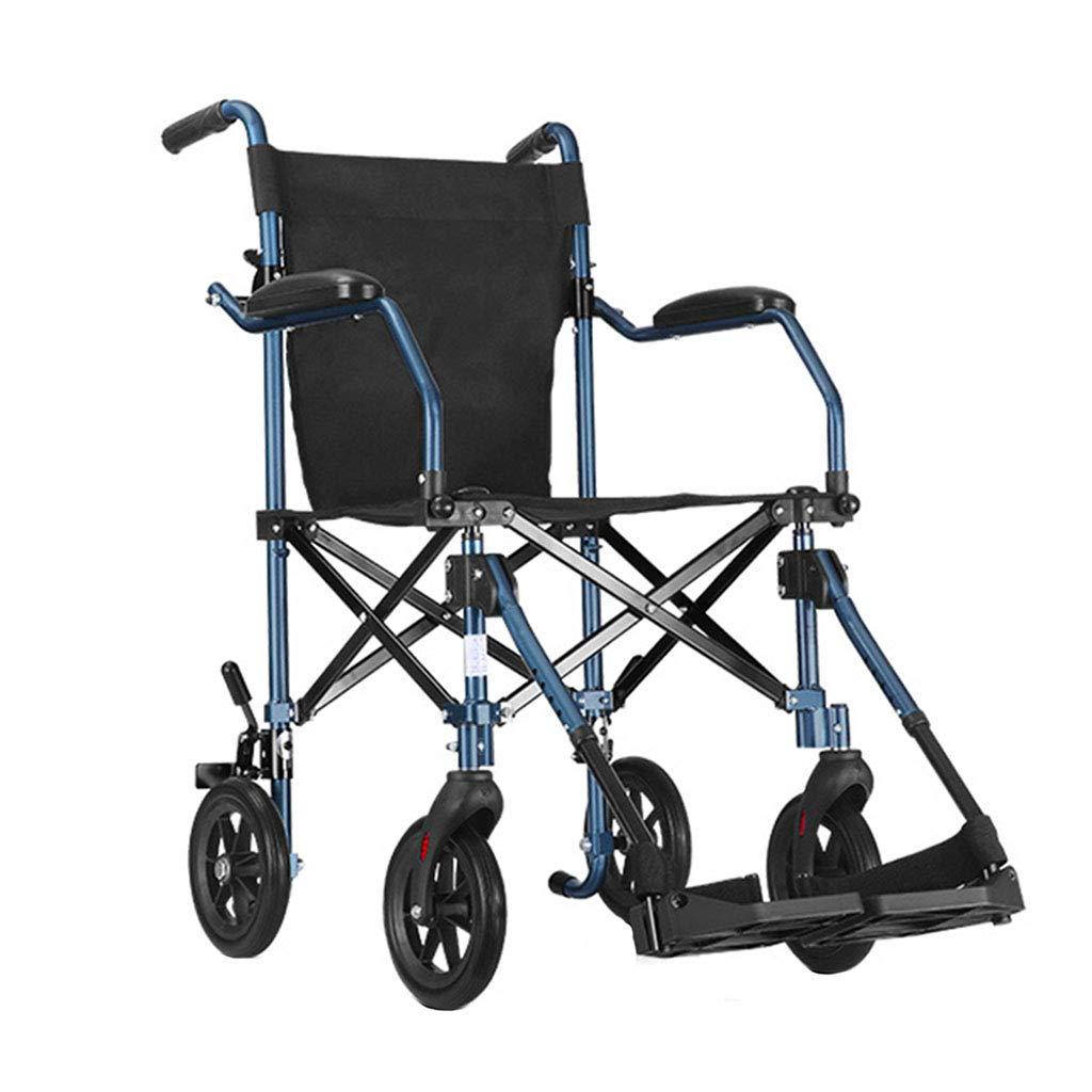【国内発送】 自走用車いす Blue 車いす 折り畳みトロリー 高齢者旅行車いす B07L9LP9G4 航空機車いす 特別贈り物 110kgに耐えることができます (Color : 43*43*90cm Blue, Size : 43*43*90cm) 43*43*90cm Blue B07L9LP9G4, チョウフシ:10e37f98 --- a0267596.xsph.ru