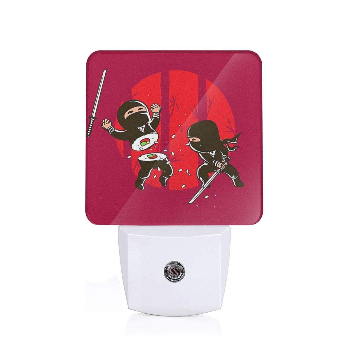 Amazon.com: SUNNMOON Sushi Ninja Plug in LED Night Light ...