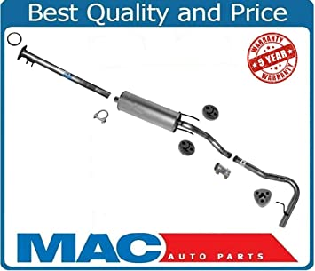1996-1997 Tacoma 3.4L Extended cab AWD Resonator Muffler Pipe Exhaust System Kit