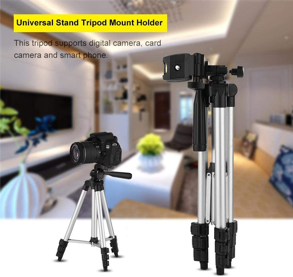 Jadeshay Tripod Holder Flexible Smartphone Tripod Universal Stand Tripod Mount Holder with Bag