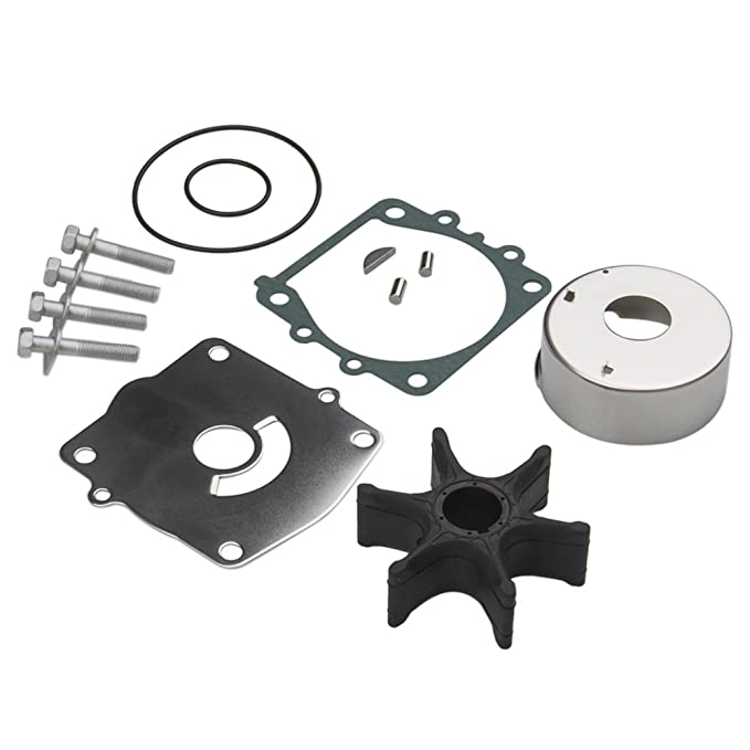 Amazon Com Water Pump Impeller Repair Kit For Yamaha 61a W0078 A3