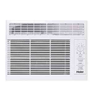 Haier QHV05LX 5,050 BTU Electric Room Dehumidifying Window Air Conditioner Unit