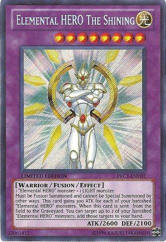 Yu-Gi-Oh!! - Elemental HERO The Shining (PRC1-ENV01) - 2012 Premium Tin - Limited Edition - Secret Rare