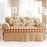 Sure Fit Lexington T-Cushion Sofa Slipcover, Multi