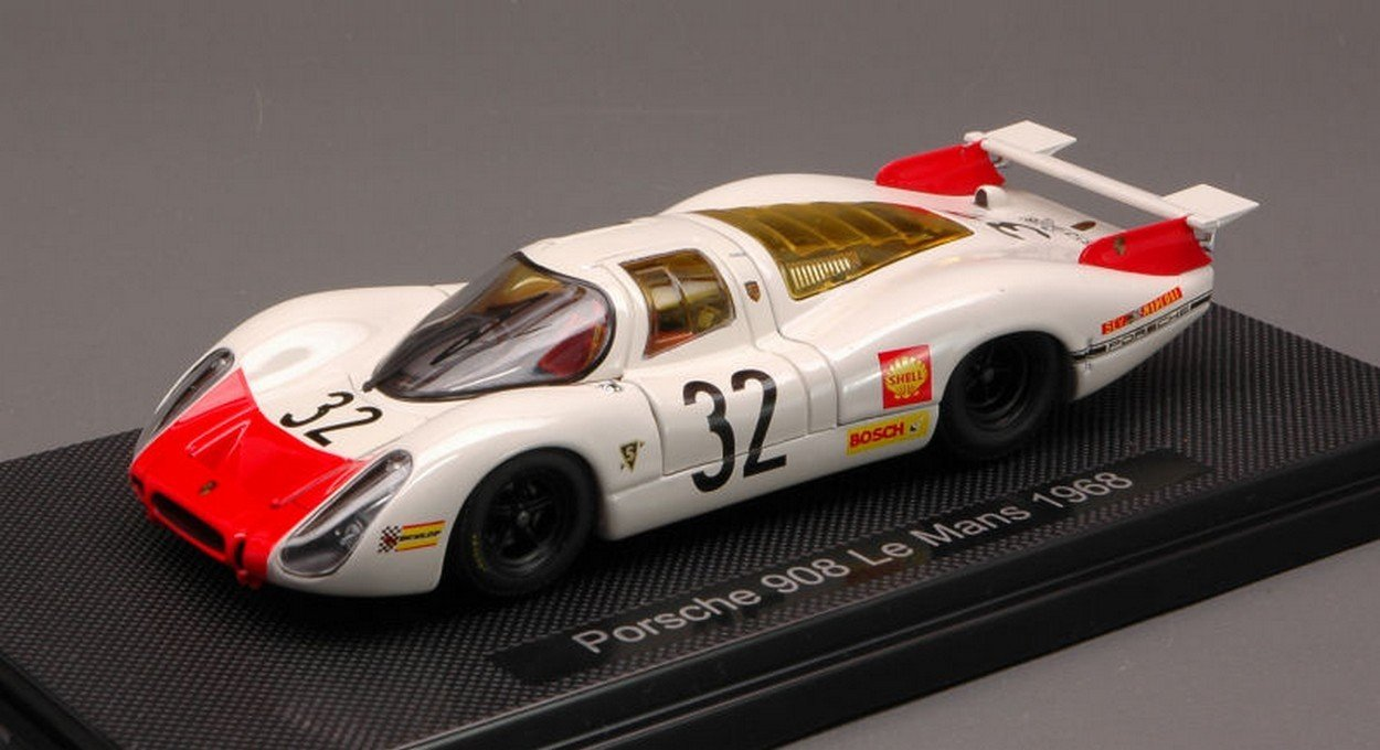 EBBRO EB44289 Porsche 908 N.32 DNF LE Mans 1968 DIE G.MITTER-V.ELFORD 1 43 DIE 1968 CAST 486034