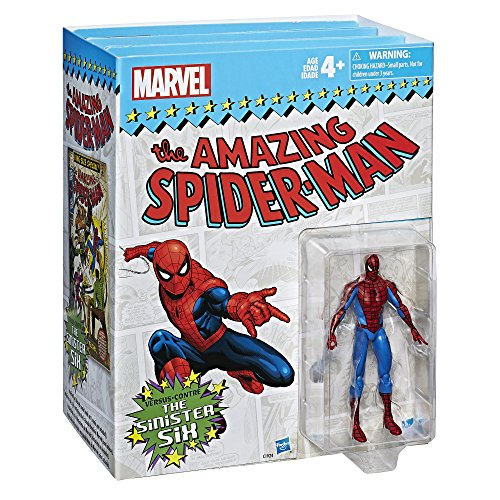 Action Figure Signed - Marvel Legends Series Spider-Man vs. The Sinister Six, 3.75-inch