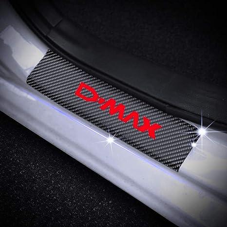 Blue SENYAZON F-150 Decals Carbon Fibre Vinyl Reflective Car Door Sill Decoration Scuff Plate for Ford F-150 Car Accessories