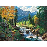 Mountain Medley 1000+ pc Large Piece Jigsaw Puzzle by SunsOut